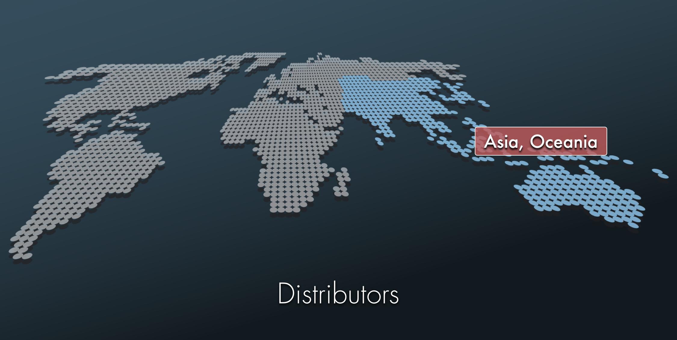 Distributors -Asia- TAJIMA -SAI-